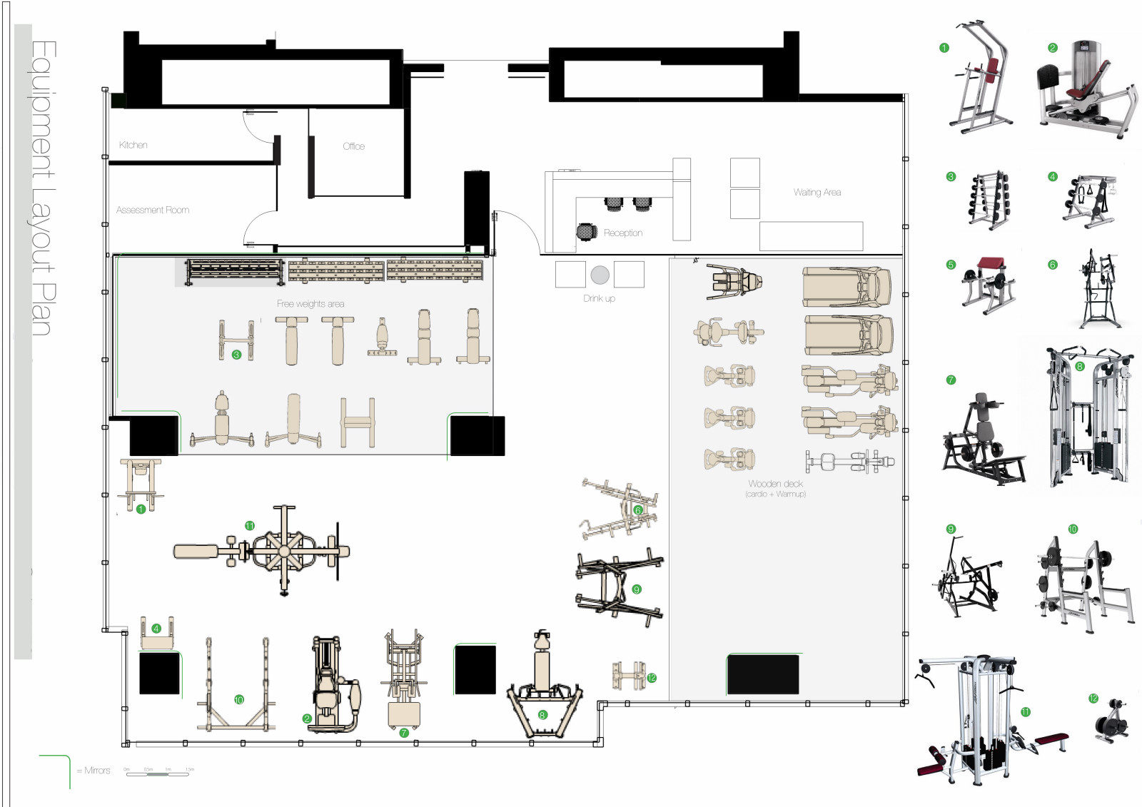 20 Surprisingly Gym Layout Plan Home Building Plans 12740